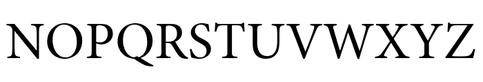 Minion Pro Subhead Font UPPERCASE