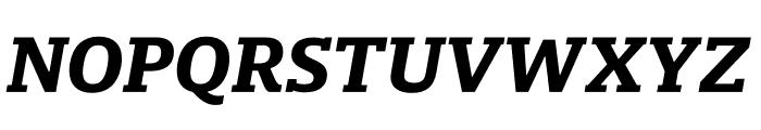 Mislab Std Bold Italic Font UPPERCASE