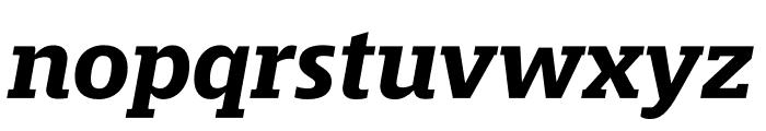 Mislab Std Bold Italic Font LOWERCASE