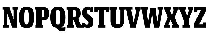 Mislab Std Compact Black Font UPPERCASE