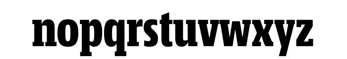 Mislab Std Compact Black Font LOWERCASE
