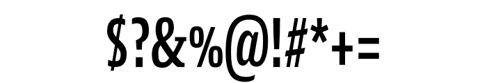 Mislab Std Compact Demi Font OTHER CHARS