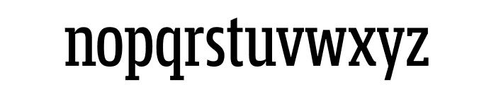 Mislab Std Compact Demi Font LOWERCASE