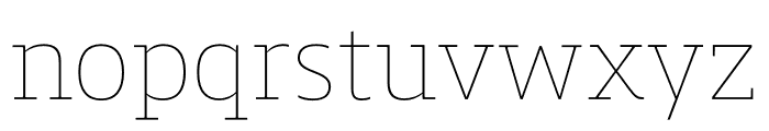 Mislab Std Compact Hairline Font LOWERCASE