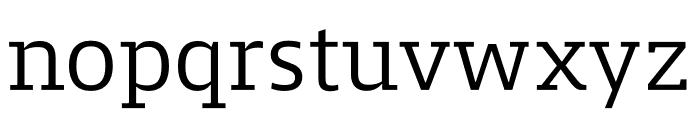 Mislab Std Compact Light Font LOWERCASE