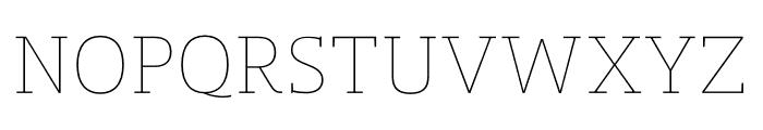 Mislab Std Hairline Font UPPERCASE