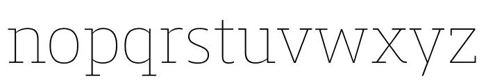Mislab Std Hairline Font LOWERCASE