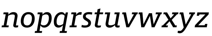 Mislab Std Italic Font LOWERCASE