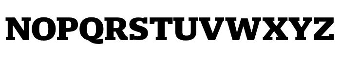 Mislab Std Narrow ExBold Font UPPERCASE