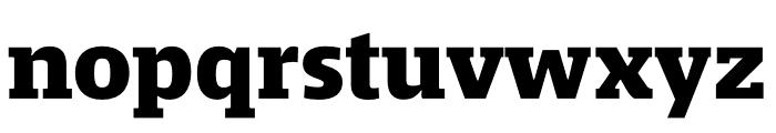 Mislab Std Narrow ExBold Font LOWERCASE
