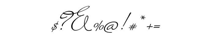 Miss Blaker Regular Font OTHER CHARS