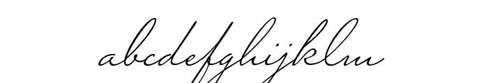 Miss Blaker Regular Font LOWERCASE