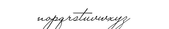 Miss Stephams Regular Font LOWERCASE
