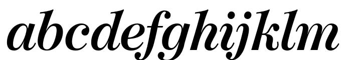 ModernoFB BoldItalic Font LOWERCASE