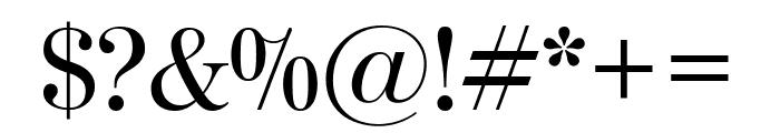 ModernoFB Regular Font OTHER CHARS
