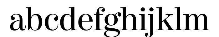ModernoFB Regular Font LOWERCASE