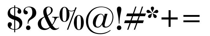 ModernoFB Semibold Font OTHER CHARS