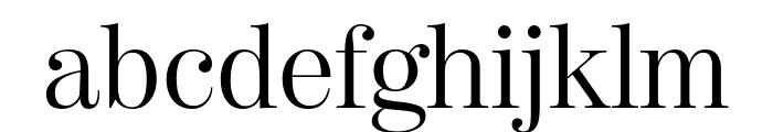 ModernoFBComp Light Font LOWERCASE