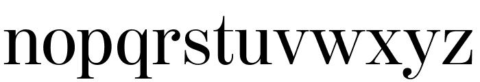 ModernoFBComp Regular Font LOWERCASE