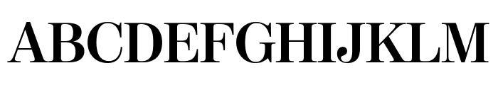 ModernoFBCond Bold Font UPPERCASE