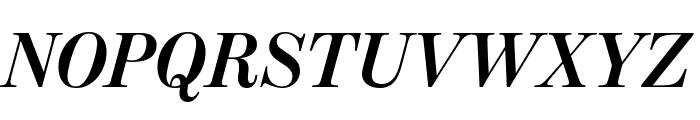ModernoFBCond BoldItalic Font UPPERCASE