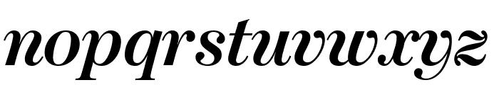 ModernoFBCond BoldItalic Font LOWERCASE