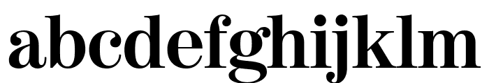 ModernoFBCond Bold Font LOWERCASE