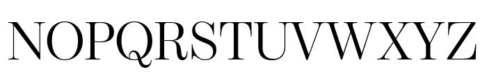 ModernoFBExtraCond Light Font UPPERCASE