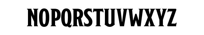 Modesto Condensed Regular Font LOWERCASE