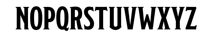Modesto Open InlineFill Font UPPERCASE