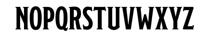 Modesto Open Outline Font UPPERCASE