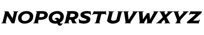 ModestoLite Italic Font UPPERCASE