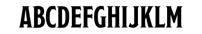 ModestoLite Regular Font UPPERCASE