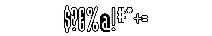 Modula Round OT Sans Regular Font OTHER CHARS