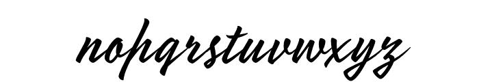 Mojito Regular Font LOWERCASE