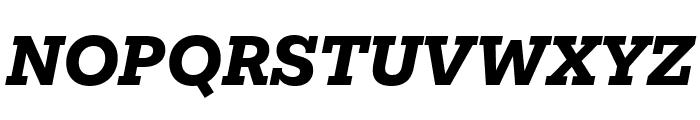 Mokoko Extra Bold Italic Font UPPERCASE