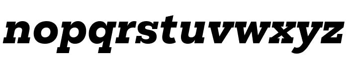 Mokoko Extra Bold Italic Font LOWERCASE