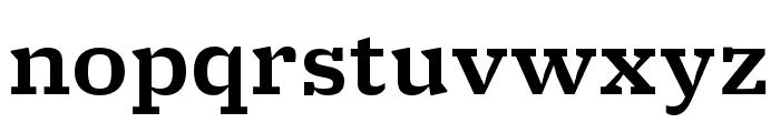 Molto Medium Font LOWERCASE
