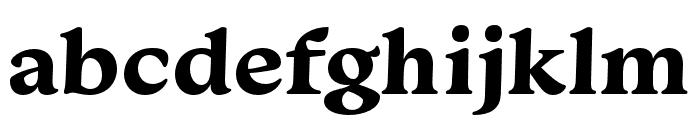 Monarcha Bold Font LOWERCASE