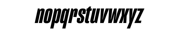 Mongoose Bold Italic Font LOWERCASE