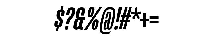 Mongoose Medium Italic Font OTHER CHARS