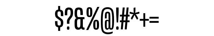 Mongoose Regular Font OTHER CHARS