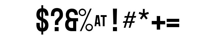 Mono45 Headline Regular Font OTHER CHARS