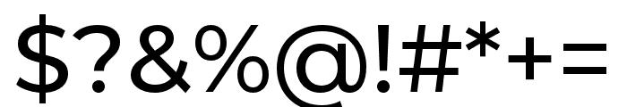Montserrat Alternates Medium Font OTHER CHARS