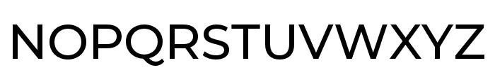 Montserrat Alternates Medium Font UPPERCASE