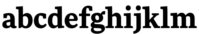 More Pro Bold Font LOWERCASE