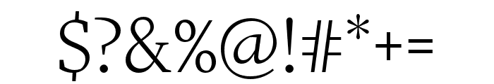 More Pro Book Italic Font OTHER CHARS