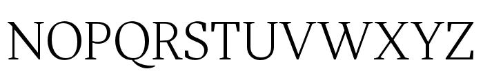More Pro Book Italic Font UPPERCASE