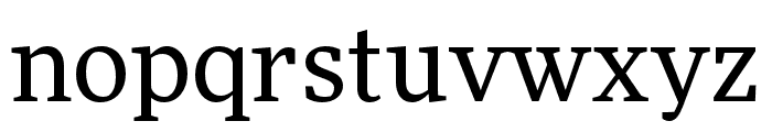 More Pro Book Font LOWERCASE