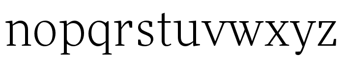 More Pro Wide Book Italic Font LOWERCASE